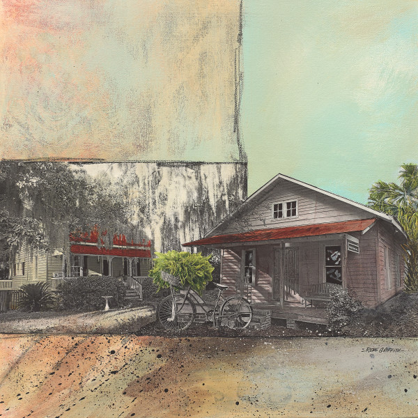 Port Royal Cottages by Rene Griffith