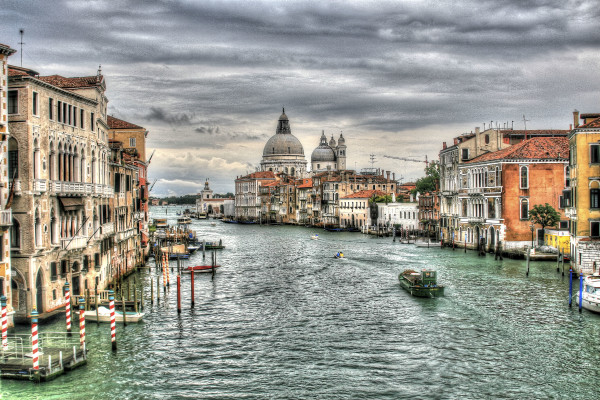 Venice--Grand Canal by Rene Griffith