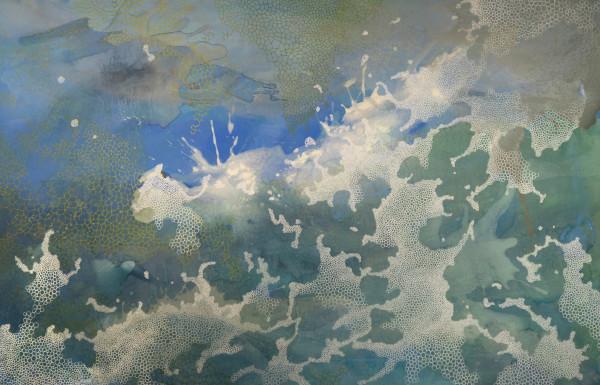 萨曼莎·克拉克(Samantha Clark)的《绿色浪潮》(Green Wave)