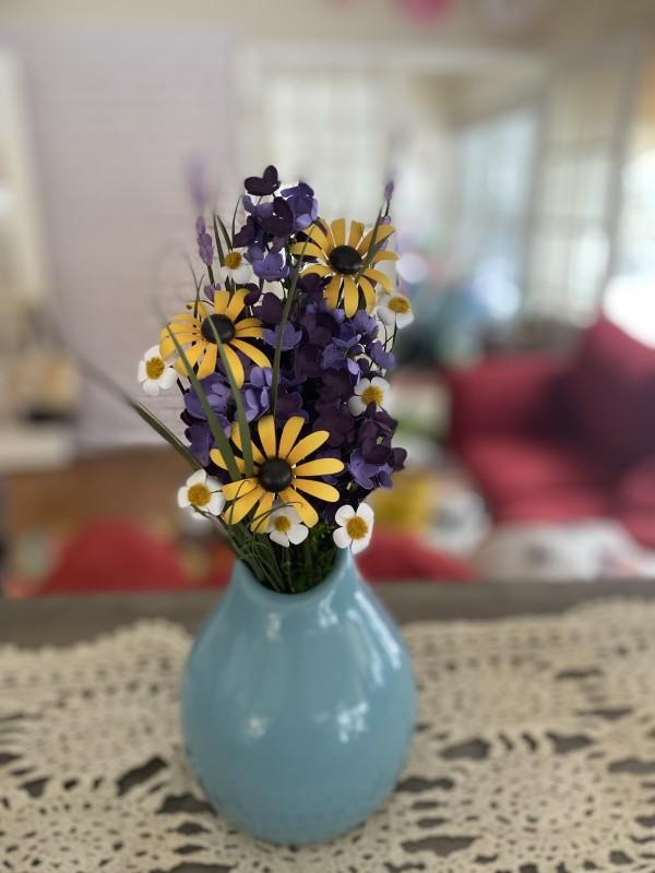 Medium Wildflower Vase by Mallorie Evans