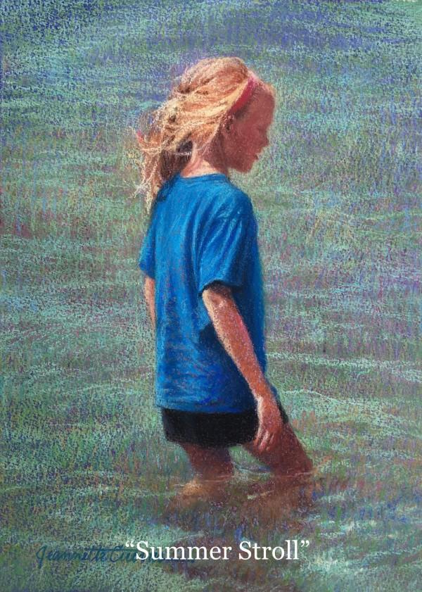 Summer Stroll by Jeannette Cuevas