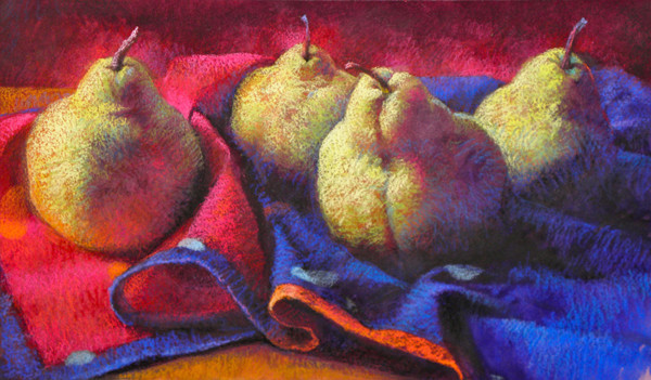 Passionate Pears by Jeannette Cuevas