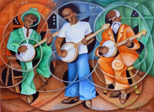 Banjo Legacy by Marcella Hayes Muhammad