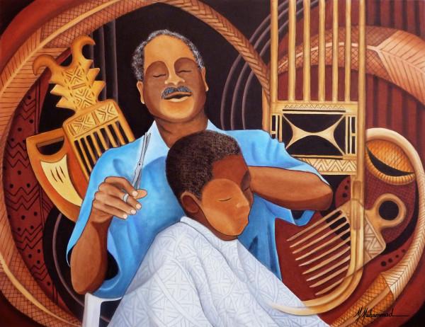 Barbershop Wisdom by Marcella Hayes Muhammad