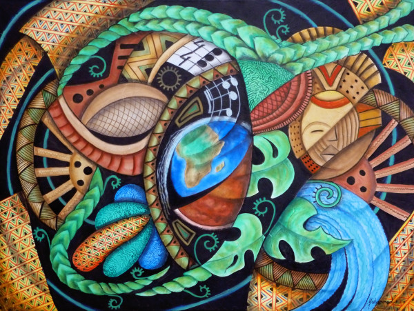 Earth Song by Marcella Hayes Muhammad