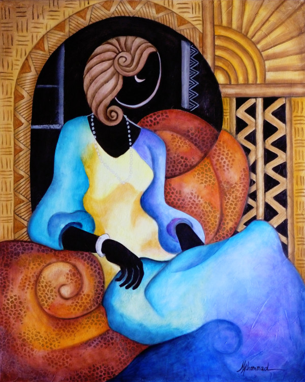 Elegant Lady 1 by Marcella Hayes Muhammad