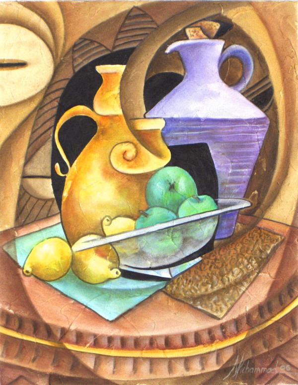 Granny Smith And Lemons by Marcella Hayes Muhammad