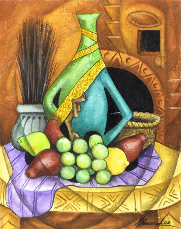 Green Pears, Red Pears by Marcella Hayes Muhammad