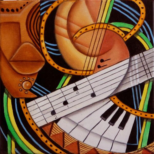 Maruvian Musical Kaleidoscope by Marcella Hayes Muhammad
