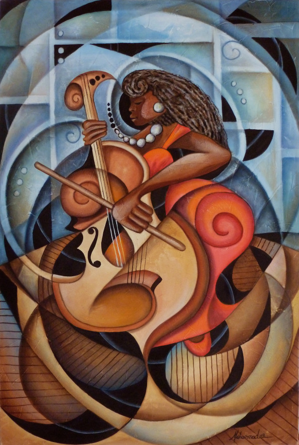 Mello Cello by Marcella Hayes Muhammad