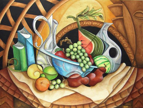 Playa Buffet 2 by Marcella Hayes Muhammad