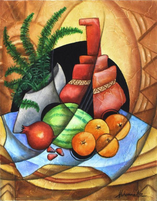 Pomegranate by Marcella Hayes Muhammad