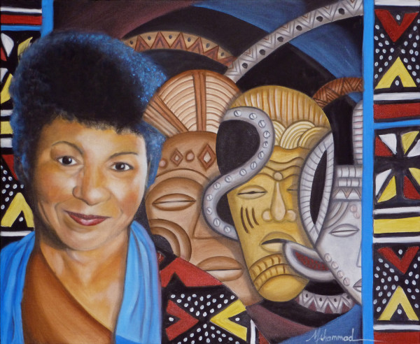 Self Portrait 2020 by Marcella Hayes Muhammad