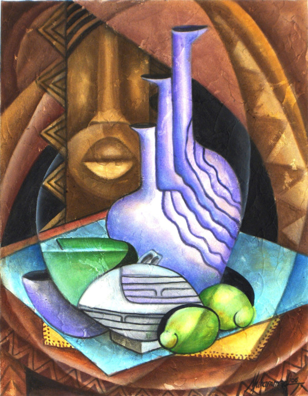 Still life With Key Limes by Marcella Hayes Muhammad