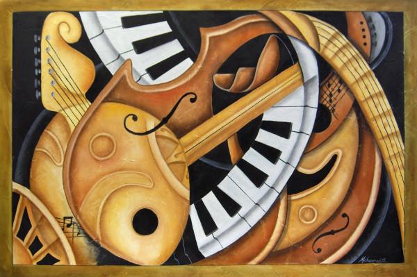 Syncopated Rhapsody by Marcella Hayes Muhammad