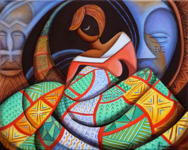 The Quilter by Marcella Hayes Muhammad