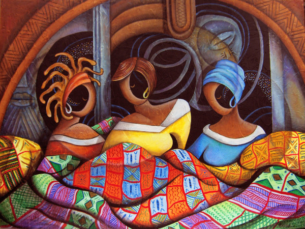 The Quilting Circle by Marcella Hayes Muhammad