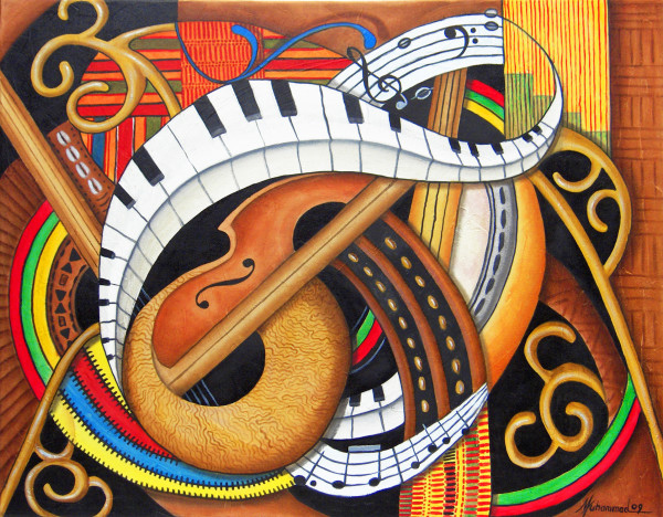 Sound of soul Strings by Marcella Hayes Muhammad