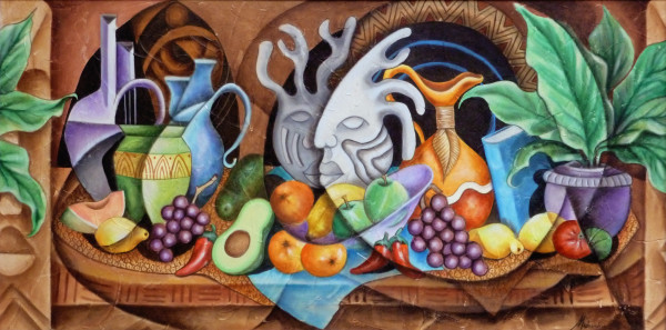 Tropical Buffet by Marcella Hayes Muhammad