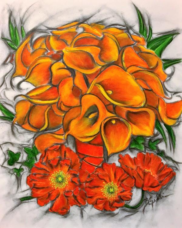 Lyndsey's Bouquet by Brenda Gribbin