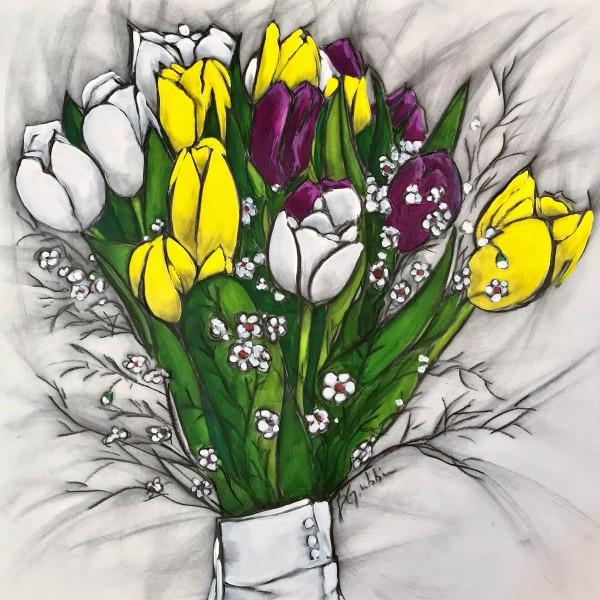 Raquel's Bouquet by Brenda Gribbin