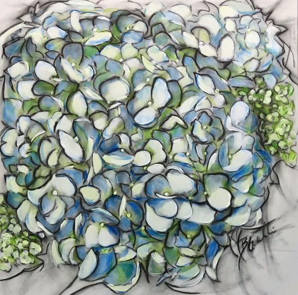 Susie's Hydrangea by Brenda Gribbin