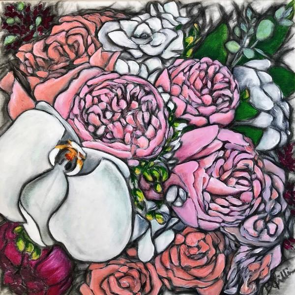 White Orchid by Brenda Gribbin