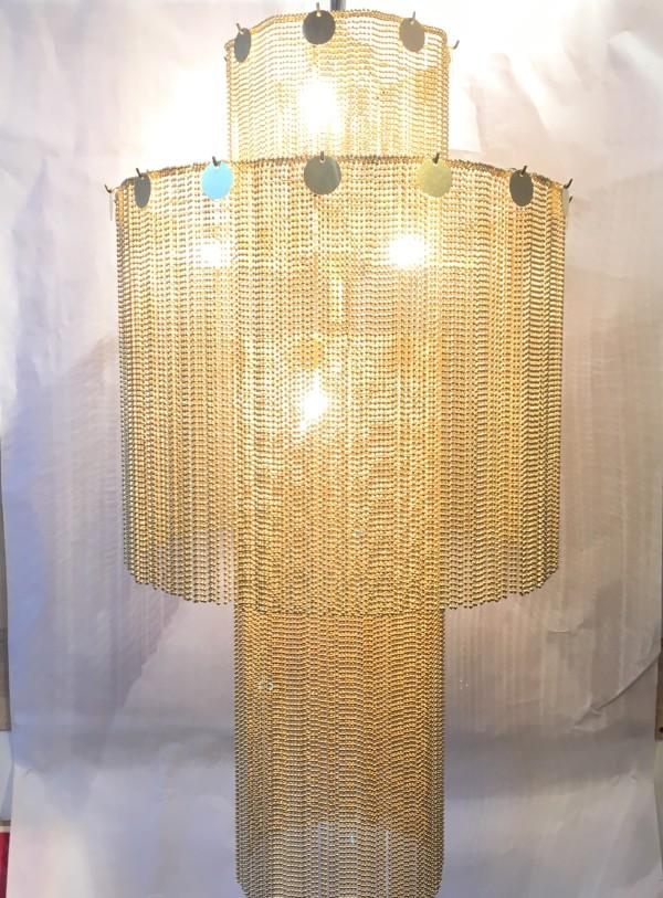 Glam chandelier by Beth Kamhi
