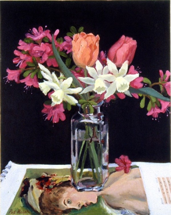 Azaleas, Tulips and Narcissus by Pat Ralph