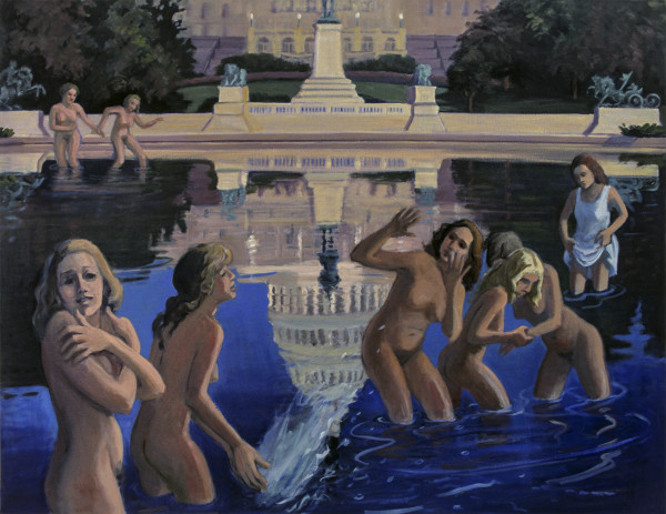 Bathers by Pat Ralph