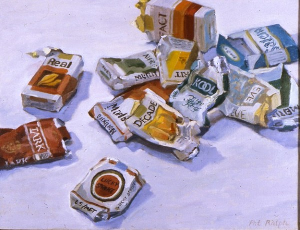 Cigarette Wrappers by Pat Ralph