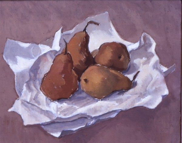 Four Pears by Pat Ralph
