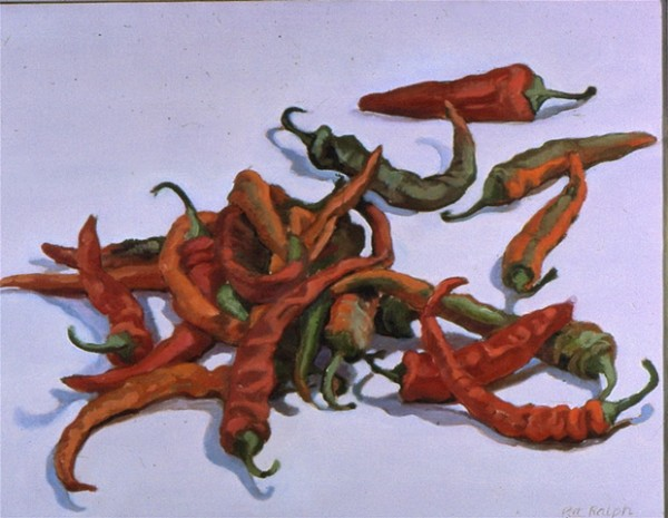 Hot Peppers by Pat Ralph