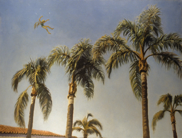Icarus Falling Over Southern California by Pat Ralph