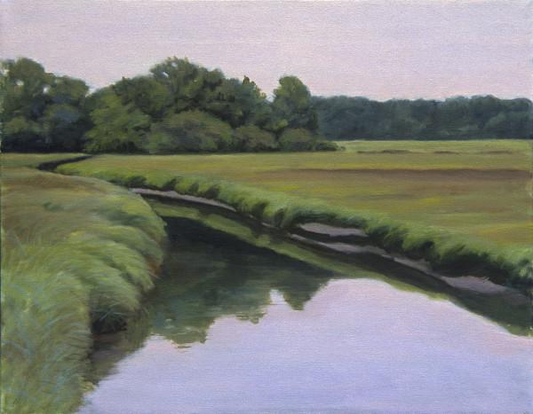 Marsh at Twilight by Pat Ralph
