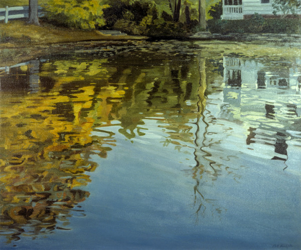 Millpond: Autumn Afternoon by Pat Ralph