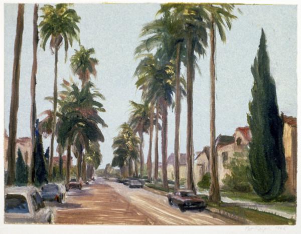 Palm Street, Beverly Hills #1 by Pat Ralph