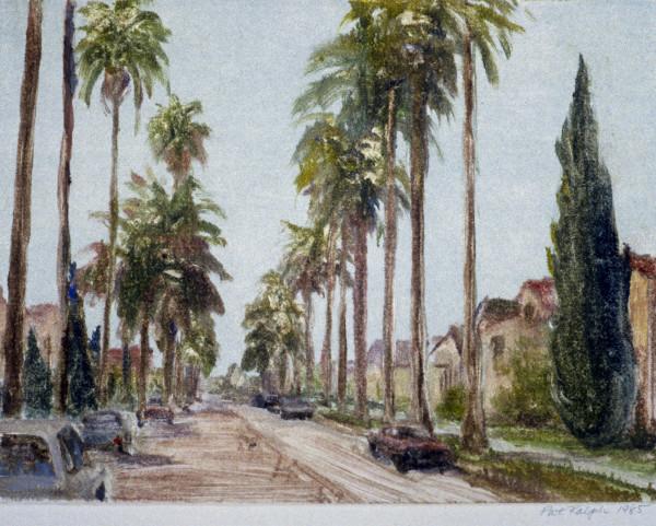 Palm Street, Beverly Hills #2 by Pat Ralph