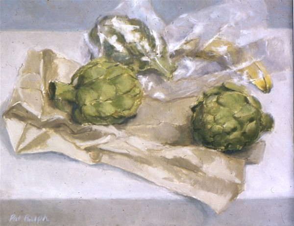 Still Life With Artichokes by Pat Ralph