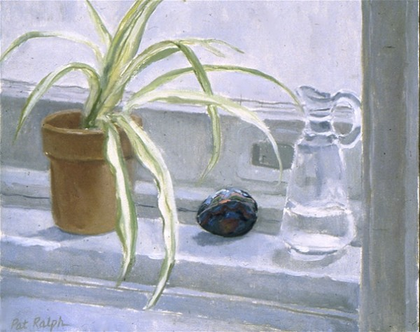 Still Life with Painted Egg by Pat Ralph