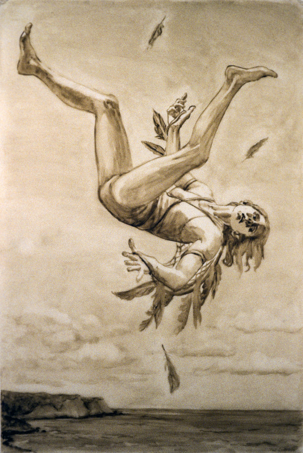 Study for Falling by Pat Ralph