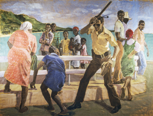 Study for Incident in Port Au Prince by Pat Ralph