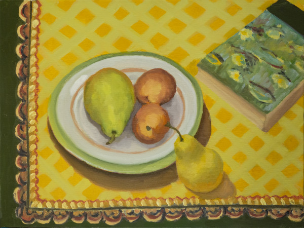 Untitled #333 (Four Pears) by Pat Ralph