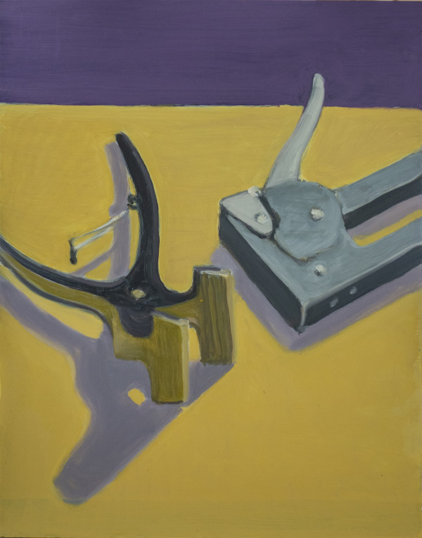Untitled #329 (Stapler with Canvas Pliers) by Pat Ralph