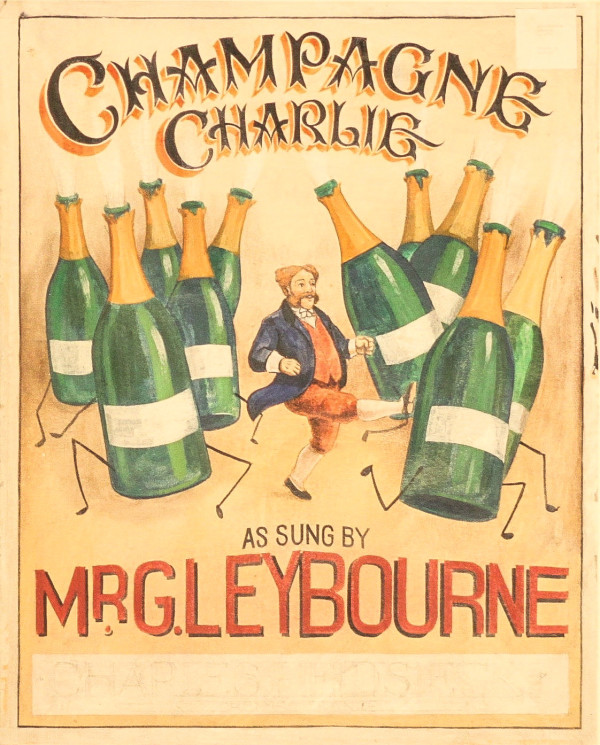 Champagne Charlie by 20th Century European