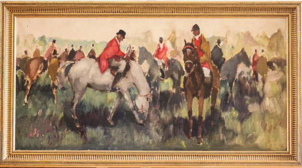 The Hunting Party by 20th Century American