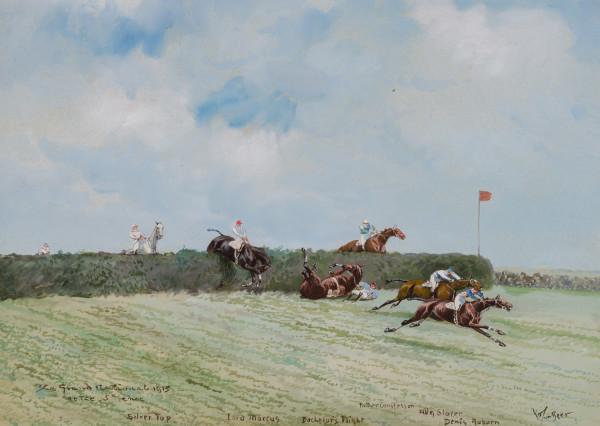 Grand National 1915, At the 5th Jump by John Beer