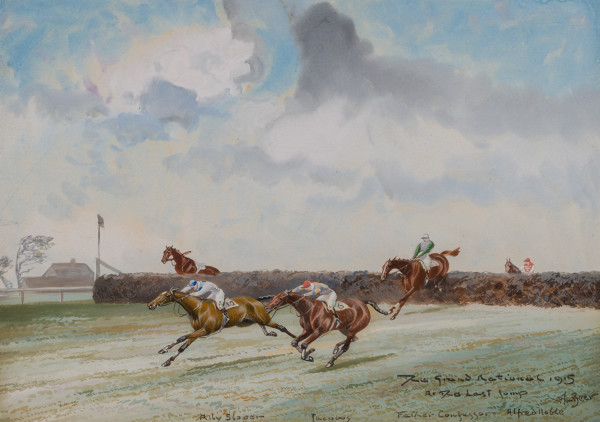Grand National 1915, At the Last Jump by John Beer