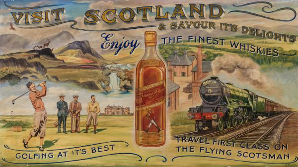 Visit Scotland by 20th Century European