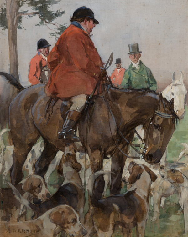 Mr. Jorrocks Going Out by George Denholm Armour